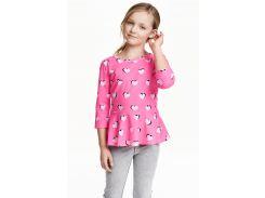 Блуза H&M 158 164см розовый 3477032
