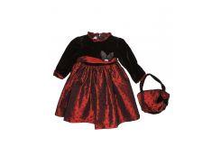 Платье BattyFenny 130см красно черный 184012003