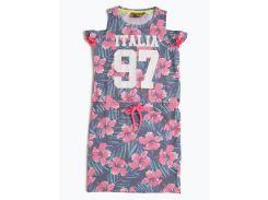 Платье Vingino 104см комбинированный