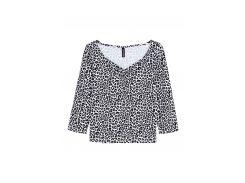Блуза H&M S черно белый 4765695