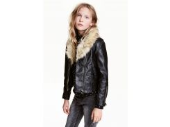 Куртка H&M 152см черный 3878274