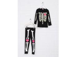 Карнавальный костюм Скелет Kiki& Koko 116см черный 10717991071795