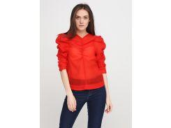 Блуза H&M 36 красный 5946186