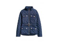 Куртка H&M 134см темно синий 76044817