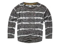 Лонгслив Vingino 128см черно белый 1730016