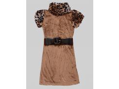 Платье Marions 146см коричневый 7404