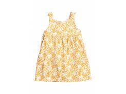 Сарафан H&M 86см бело желтый цветы 4951006
