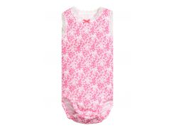 Боди H&M 74см розовый цветы 4950996