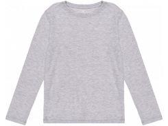 Лонгслив H&M 134 140см серый меланж 6789088