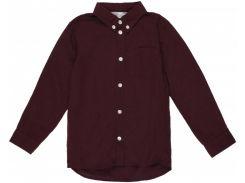 Рубашка H&M 104см сливовый 456572
