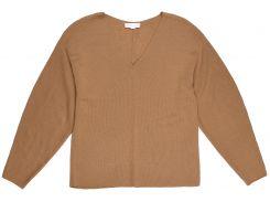 Джемпер H&M XS коричневый 7322229