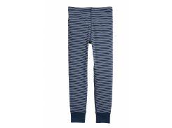Брюки H&M 110 116см темно синий полоска 4855496