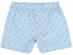 Трусы H&M S голубой пингвины 6523569