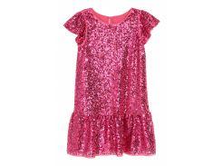 Платье H&M 98см розовый 5272396
