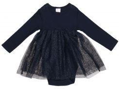 Платье H&M 74см темно синий блеск 6658188