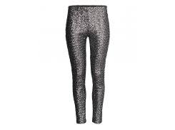 Брюки H&M 40 черно серый пайетки 2534300