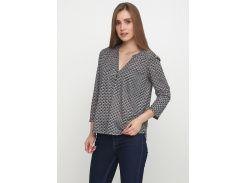 Блуза H&M XS серо черный 3080614
