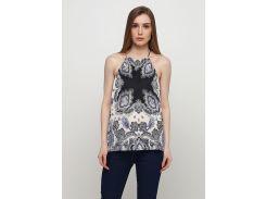 Блуза H&M S комбинированный 7556849