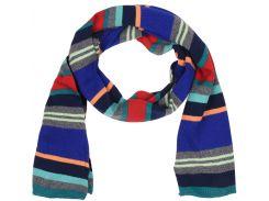 Шарф H&M One Size разноцветная полоска 1533376