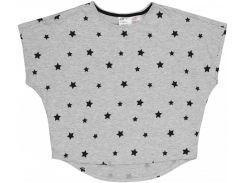 Футболка для сна H&M 146 152см серый звезды 6283417