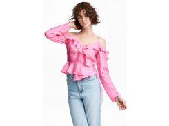 Блуза H&M 36 розовый 5476266