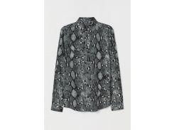 Рубашка H&M M питон 7178548