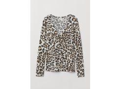Джемпер H&M XS леопардовый 6917509