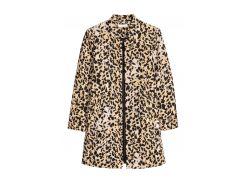 Пальто H&M 34 комбинированный 5625196