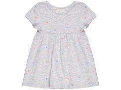 Платье H&M 68см серый меланж 2544576