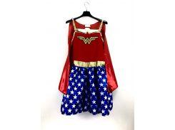 Карнавальный костюм Чудо Женщина Wonder Woman M красно синий 308563