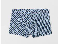 Трусы H&M M зеленый, синий, черный ку 5643107