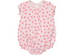 Пижама H&M 74см розовый клубничка 2470726
