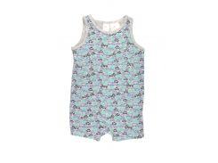 Пижама H&M 62см серый машинки 4550375