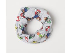 Хомут H&M One Size серый Марио 676336