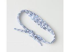 Повязка H&M One Size бело синий 5778257