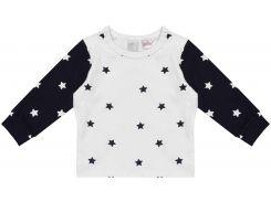 Лонгслив для сна H&M 62см бело синий звезды 5236258
