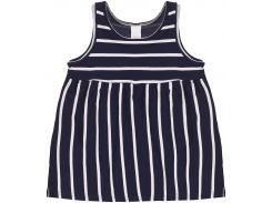 Платье H&M 68см сине белый полоска 6984219