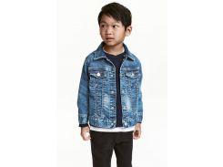 Джинсовая куртка H&M 92см синий 4772105