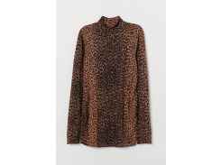 Гольф для беременных H&M M коричневый леопард 8175760
