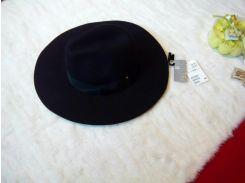Шляпа H&M S/54 черный 30123077002