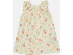 Платье H&M 98см молочный цветы 270170318112