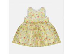 Платье H&M 74см желтый цветы 2036139387