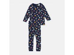 Пижама H&M 104см темно синий космос 203743932201