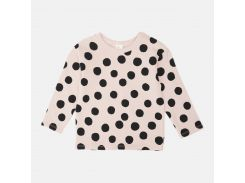 Свитшот H&M 92см розовый горох 1048834502