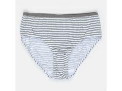 Трусики H&M 146 152см бело серый полоска 170362521602