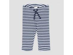 Брюки H&M 50см бело синий полоска 5652417