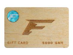 Подарочный сертификат Flagman 5000 грн