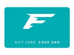 Подарочный сертификат Flagman 3000 грн