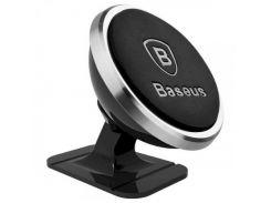 Baseus 360-degree Rotation Magnetic Mount Holder (SUGENT-NT0S) Silver