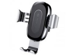 Baseus Wireless Charger Gravity Car Mount (WXYL-0S) Silver